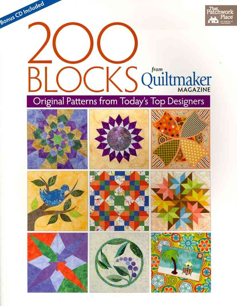 200 Quilt Blocks from Quiltmaker Magazine By Quiltmaker (COR)