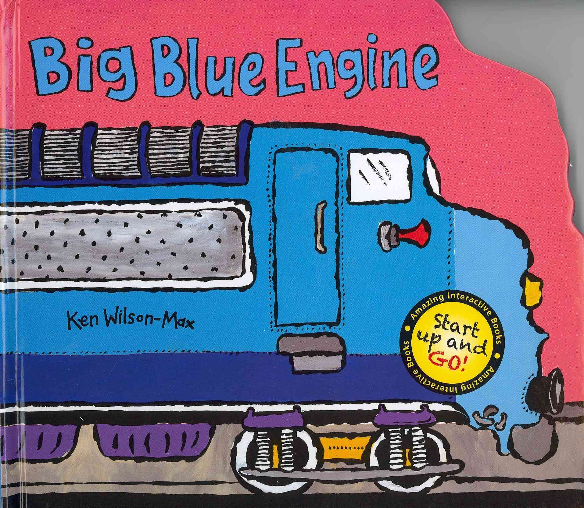 Big Blue Engine By Wilson-Max, Ken